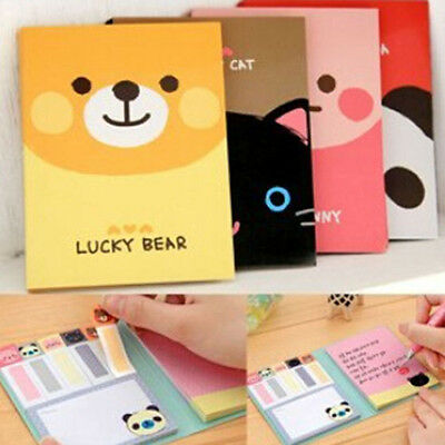 Lovely Cute Cartoon Post-It Notes Sticky Notes Memo Sticky Notes Bookmark Tag