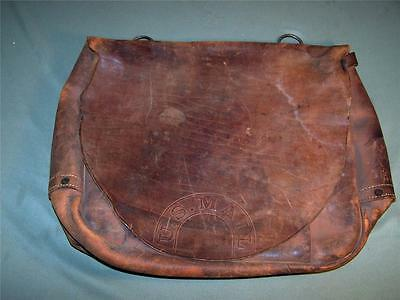 VINTAGE MERIT MAIL BAG OFFICIAL US MAIL POUCH 1968 MERIT LEATHER MAIL BAG nice