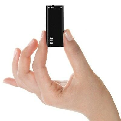 8GB USB MP3 SPY AUDIO RECORDER SENSITIVE MICROPHONE 8hr BATTERY & STORE'S 95hrs