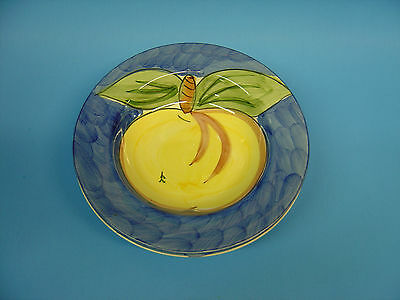 Tabletops Unlimited Hand Painted 1994 Fruita de Roma Pottery BOWL-APPLE