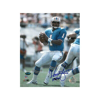 WARREN MOON SIGNED Houston Oilers 8 x 10 Photo Autographed -  35.00 ... c3168dcdf