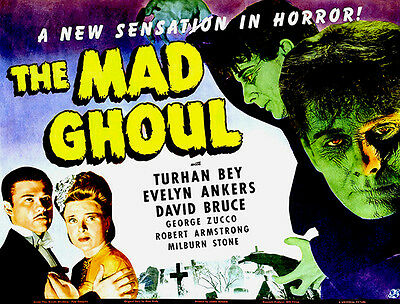 """The Mad Ghoul Movie Poster Replica 11x14/"""" Photo Print"""
