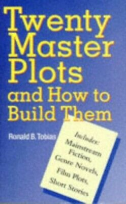 Twenty Master Plots and How to Build Them by Tobias, Ronald B. Hardback Book The