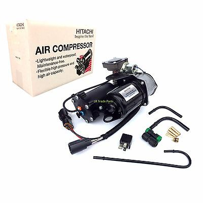 Land Rover Discovery 3 Hitachi Air Suspension Compressor & Pipe Kit - Lr023964