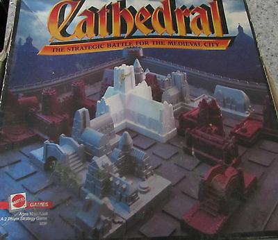 1986 Mattel Cathedral Board Game Spare/replacement Parts