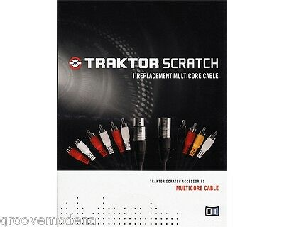 cavi NATIVE INSTRUMENTS TRAKTOR SCRATCH multicore cable