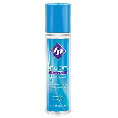 ID GLIDE 500ml / 17oz Personal Sex Lube DISCREET FAST POST Water Based