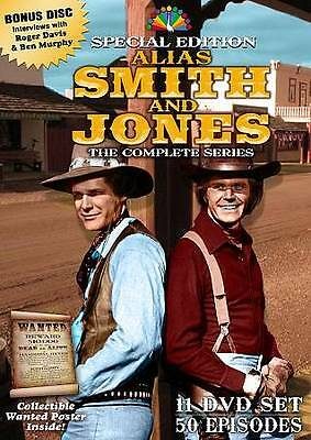 ALIAS SMITH AND JONES COMPLETE SERIES Sealed New 11 DVD Set