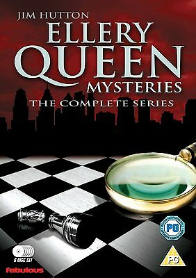 ELLERY QUEEN MYSTERIES Serie completa BOX 6 DVD in Inglese NEW .cp