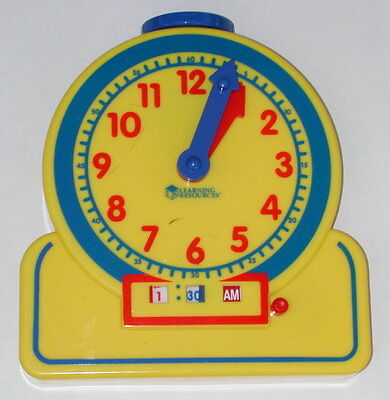 Learning Resources The Primary Time Teacher Clock