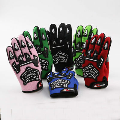 Kids Sports Touring Motorcycle Motorbike Cyling Bike Dirt Bike MX Racing Gloves