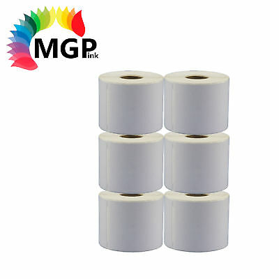 6 x Rolls 99014 Compatible Addess labels for DYMO / SEIKO labelwriter 54 x 101mm