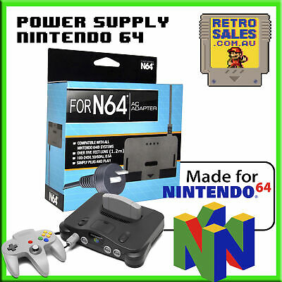 Replacement Power Supply to suit Nintendo 64 N64 - Adapter Pack Australian Plug