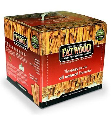 Wood Products 9910 Fatwood Box, 10 Pounds by Wood Products (9910) NEW