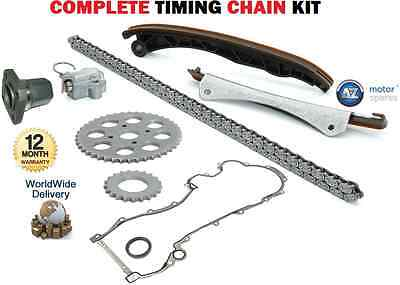 FOR PEUGEOT BIPPER TEPEE 1.3 HDi 75 2010-->ON COMPLETE TIMING CAM CHAIN KIT SET