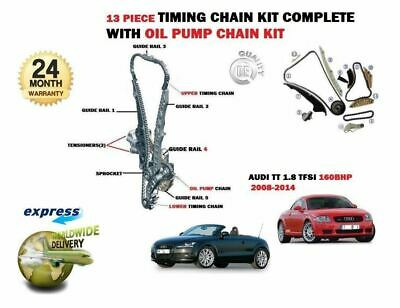 For Audi Tt 1.8 Tfsi 160Bhp Cdaa 2008-2014 New Timing Chain Kit Complete