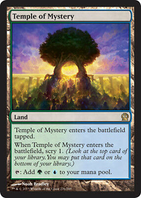 x1 Temple of Mystery MTG Theros M/NM, English