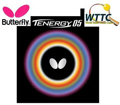 Butterfly Tenergy 05 Black 2.1mm Table Tennis Rubber