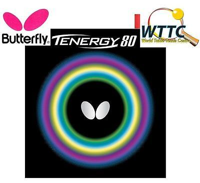 Butterfly Tenergy 80 Red 2.1mm Table Tennis Rubber
