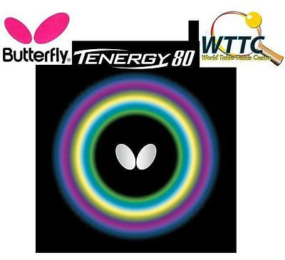 Butterfly Tenergy 80 Black 2.1mm Table Tennis Rubber