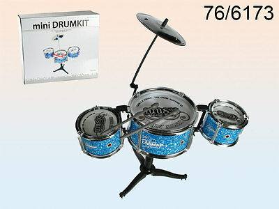 New  Childrens Kids Toy Drum Kit Set Musical Instruments Sound Percussion Gift