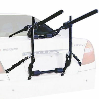 3-Bike Rear Boot Mounted Car Bike Carrier V1 Rack With Straps