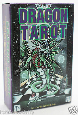 Dragon Tarot Card Deck Dragons 78 Cards Historical Mythical Fantasy Magic & Myth