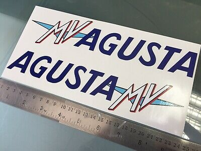 Stickers / Decals for MV Agusta F4 Side Fairings (PAIR)