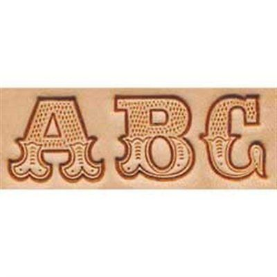 "Craftool 3/4"" (19 mm) Leather Art Alphabet Set Tandy Leather Item 8145-00"