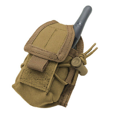 Condor Tactical Patrol Security Hhr Radio Pouch Molle System Airsoft Coyote Tan