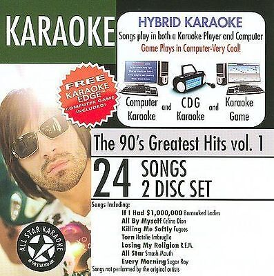 Karaoke: The 90's Greatest Hits 1/Various (2007, CD New)