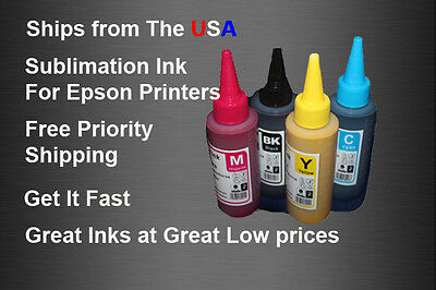Sublimation Ink  Epson  WF 7110   WF-7610 WF-7620  WF-7710 WF-3620