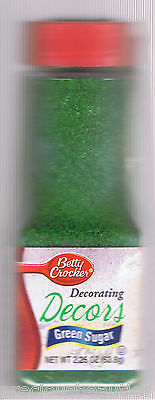 Betty Crocker Decorating Decors Green Sugar Cake Cookie Cupcake