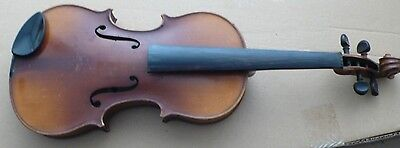 Violin vintage OLD Stradivarius Design Made in Germany bow/case/bridge/tailpiece