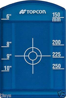 Topcon Small Blue Pipe Target Insert for Model TP-L4G/GV with Priority Mail
