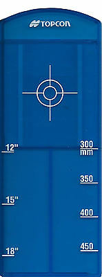 Topcon Large Blue Pipe Target Insert  for Model TP-L4G/GV with Priority Mail