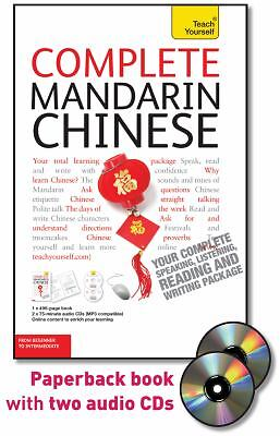 Complete Mandarin Chinese with Two Audio CDs: A Teach Yourself Guide, Scurfield,