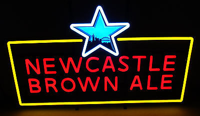 """Newcastle Brown Ale 26.5"""" X 16.5"""" Led Bar Light Sign New"""