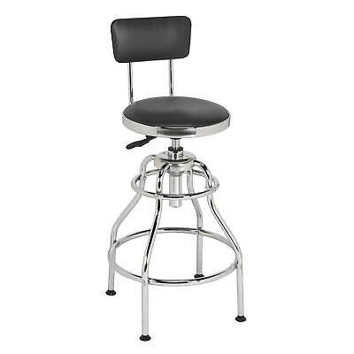 Sealey Workshop Pneumatic Stool With Adjustable Height Swivel Seat - SCR14