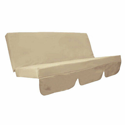 Stone Water Resistant Bench Cushion Set Only for Swing Hammock Garden Seat Pads