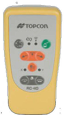 Topcon RC-40 Remote Control for Model RL-VH4DR and RL-VH4G