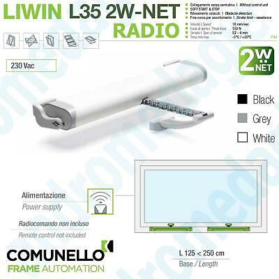 ACTUATOR LIWIN 2W-NET RADIO 350N 230V for inward & outward opening windows