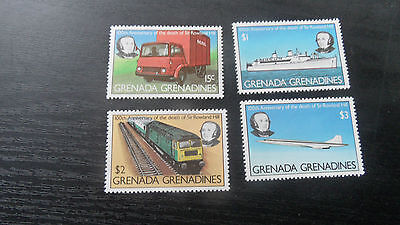 Grenadines Of Grenada 1979 Sg 332-335 Death Cent Of Sir Rowand Hill Mnh