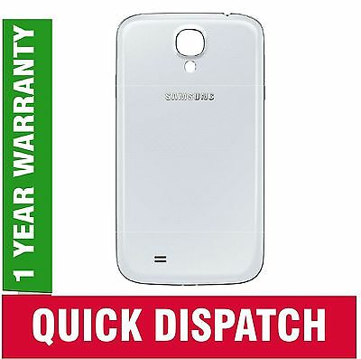 Genuine i9500 Samsung Galaxy SIV S4 rear housing battery cover door panel White