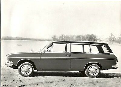 Audi 60 Variant Text ? German ? Period Photograph.