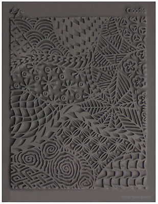 Lisa Pavelka Texture Stamp Mold Sheet Surface Imprinting Cloodle Design