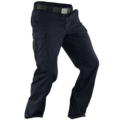 5.11 Stryke Tactical Pants Mens Polycotton Cargos Ripstop Trousers Dark Navy