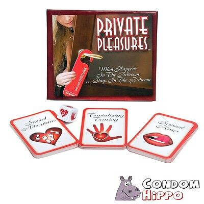 Private Pleasures Foreplay Card Game FAST DISCREET POST Adult Couples