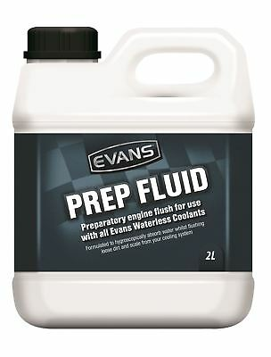 Evans Waterless Engline Coolant - Preparation / Flush Fluid - 2 Litre