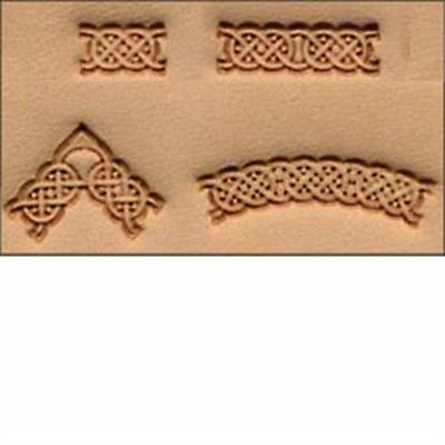Craftool Celtic 4-pc. Stamp Set Tandy Leather 69015-00  Free Ship